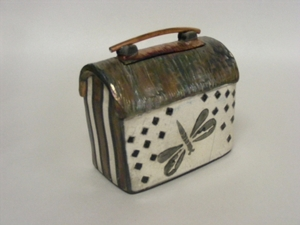 Raku butterfly box